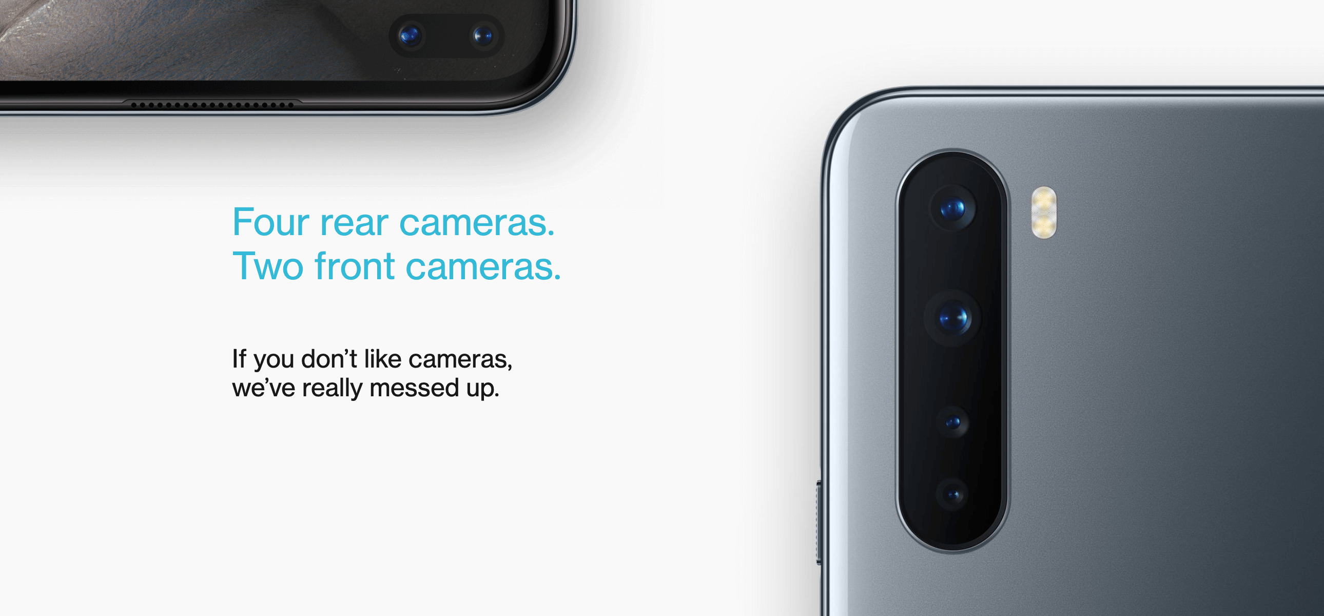 Oneplus Nord comes with Quad Camera