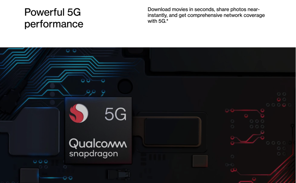 OnePlus 8 comes with latest snapdragon processor